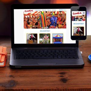 Nieuwe website clown.nl