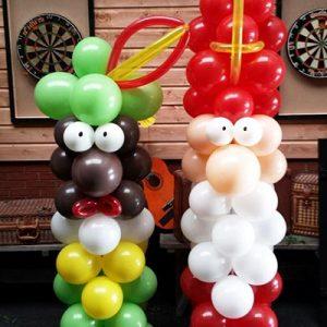 ballonnen Sint en Piet