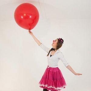 Clown Kimmy is een top Ballonnenclown en kunt u bij Clown.nl inhuren.